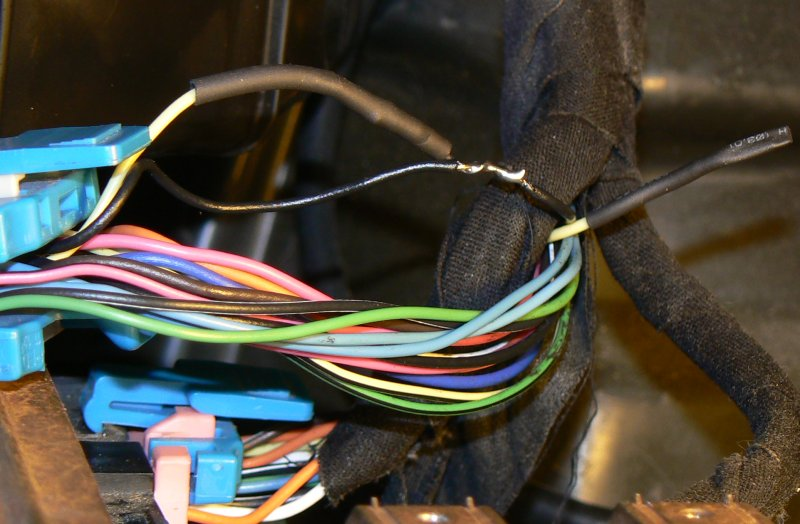 Heat Shrink tubing applied over resistor